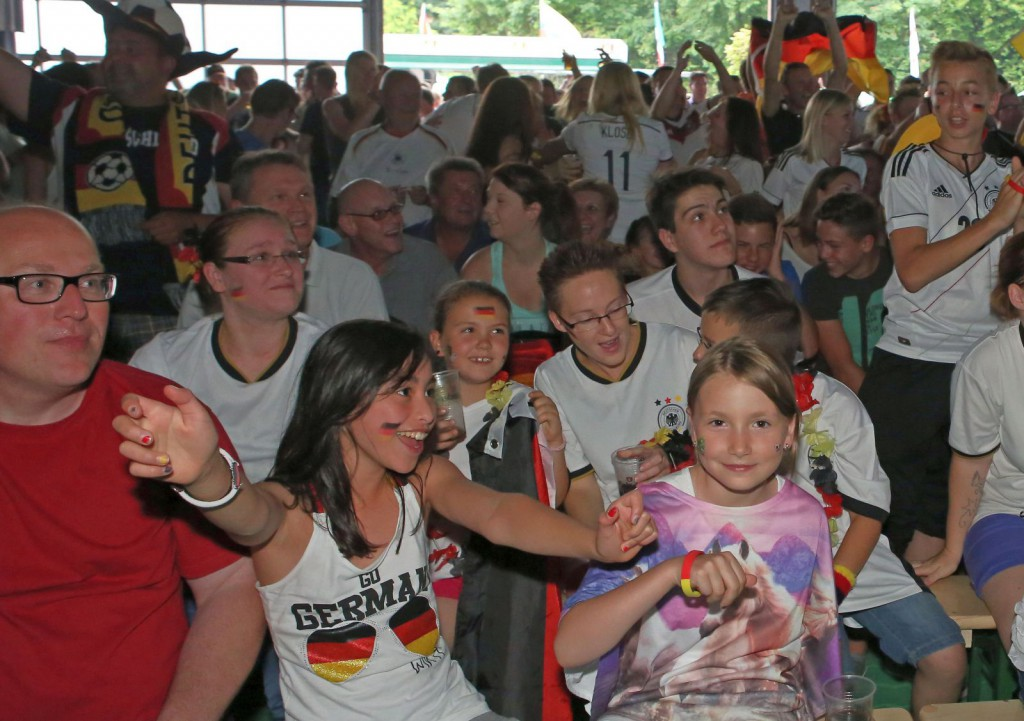 ASB Plaza Deutschland gegen Frankreich 10