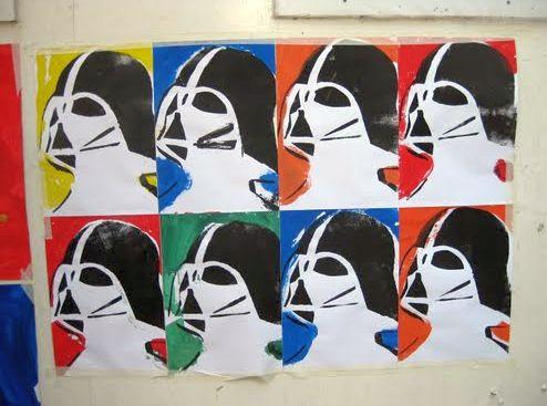 Warhol Starwars