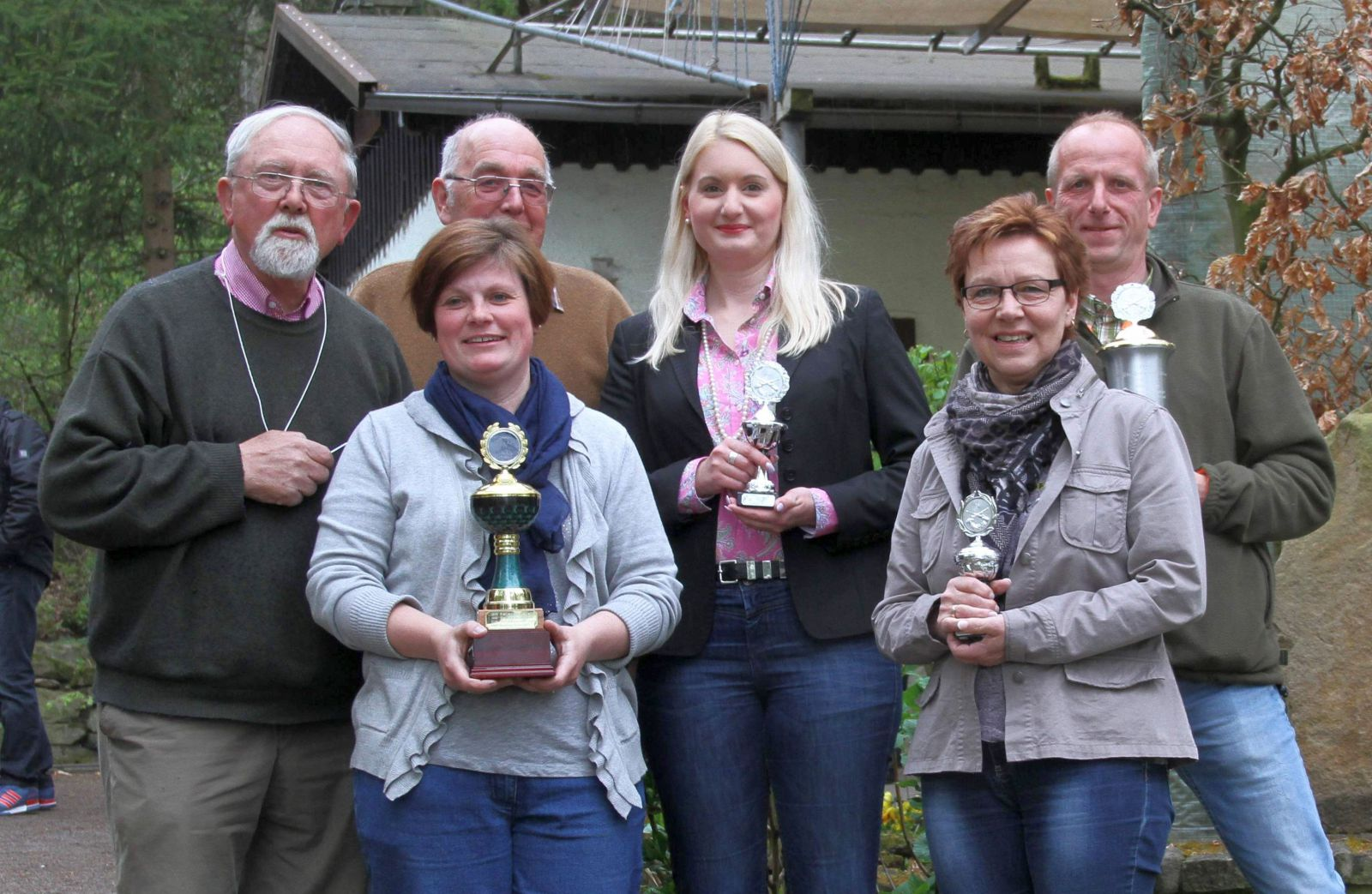 Sieger im Forstinteressentenpokal schiessen von Barsinghausen