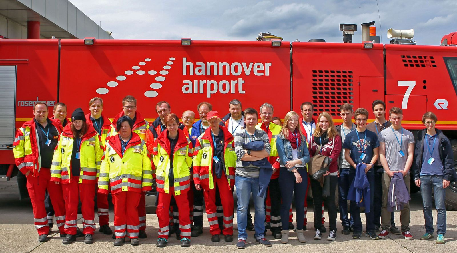 SEG besucht Hannover Airport 01