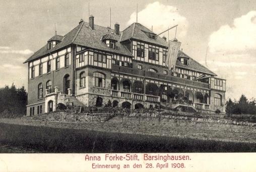 Anna Focke Stift 1908