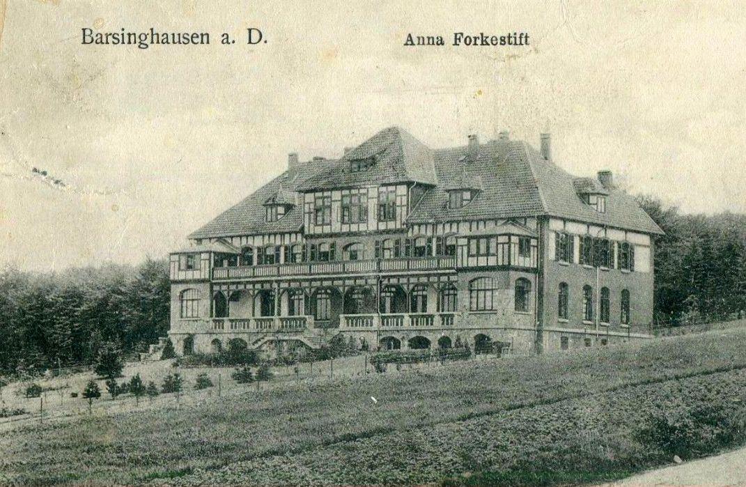 Barsinghausen, Anna Focke Stift um 1912