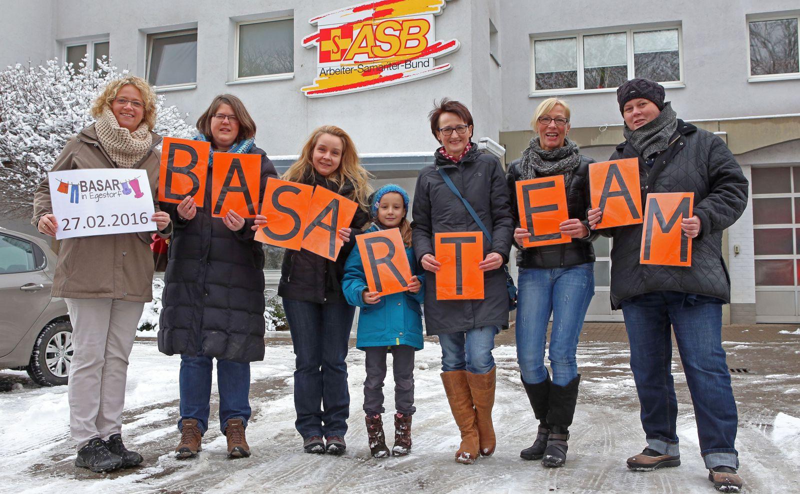 Basar-Team für VA 27. Februar 2016 Foto 01