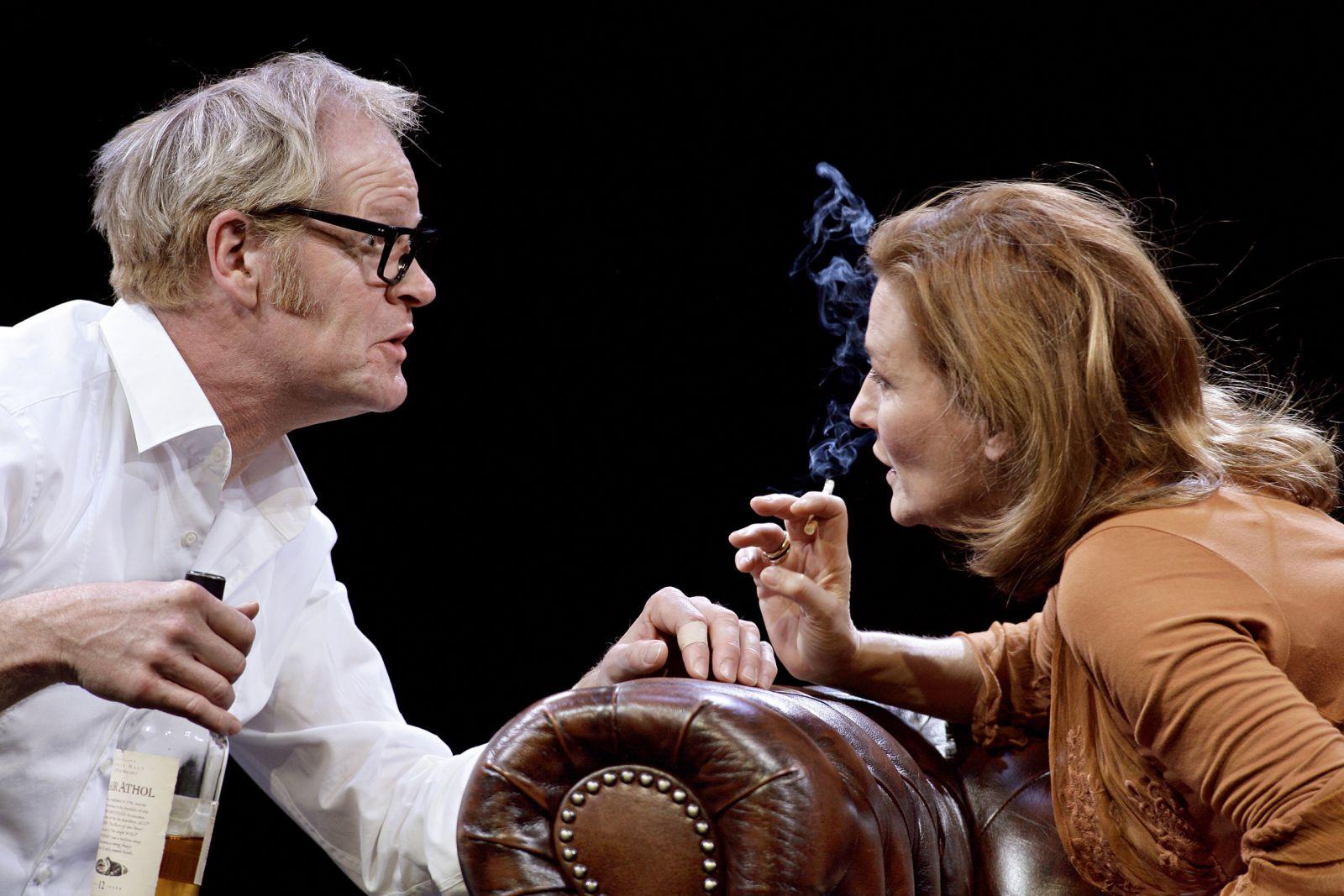 Der letzte Vorhang_1_Guntbert Warns, Suzanne von Borsody © Barbara Braun drama-berlin.de