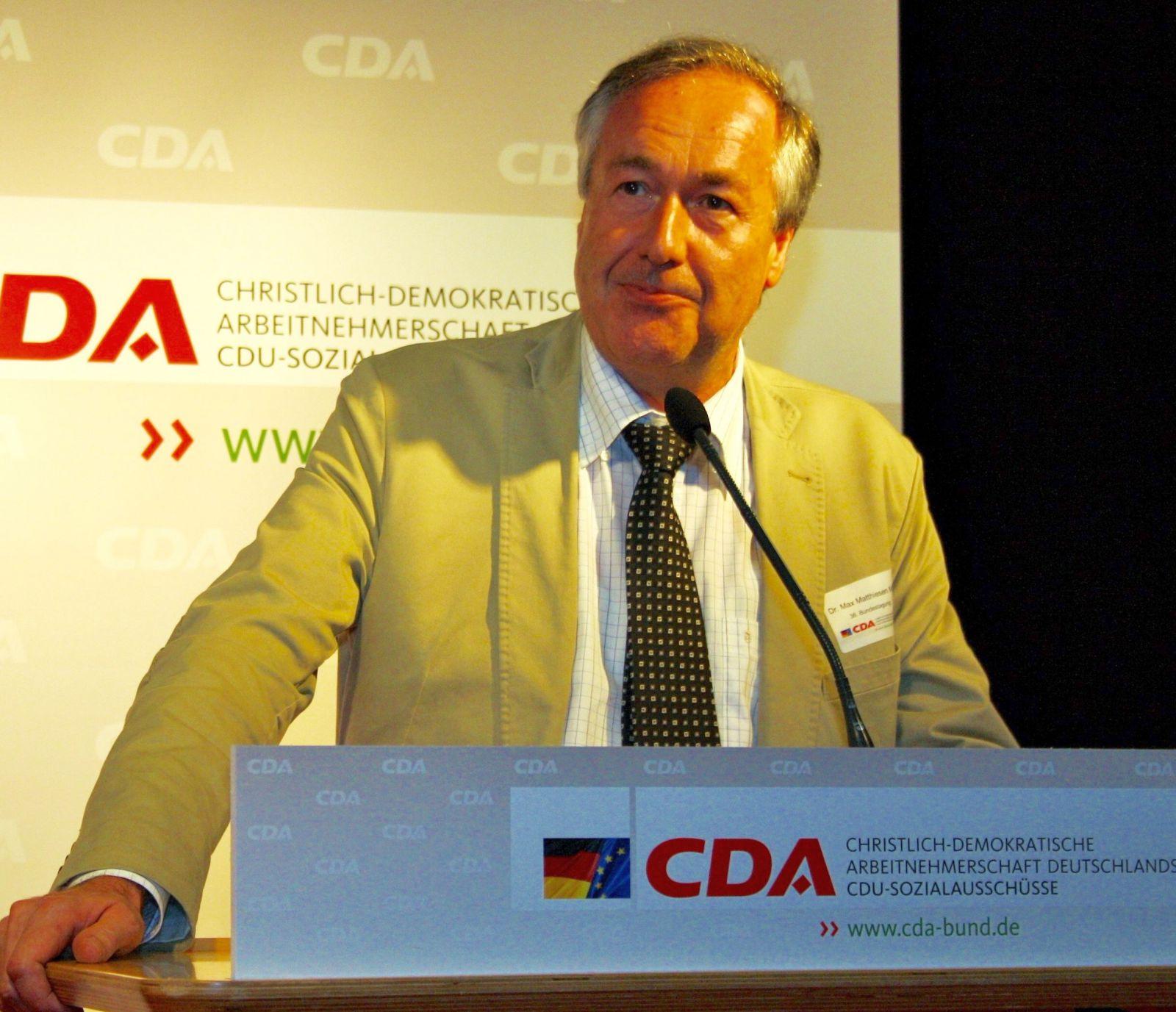 Matthiesen CDA.
