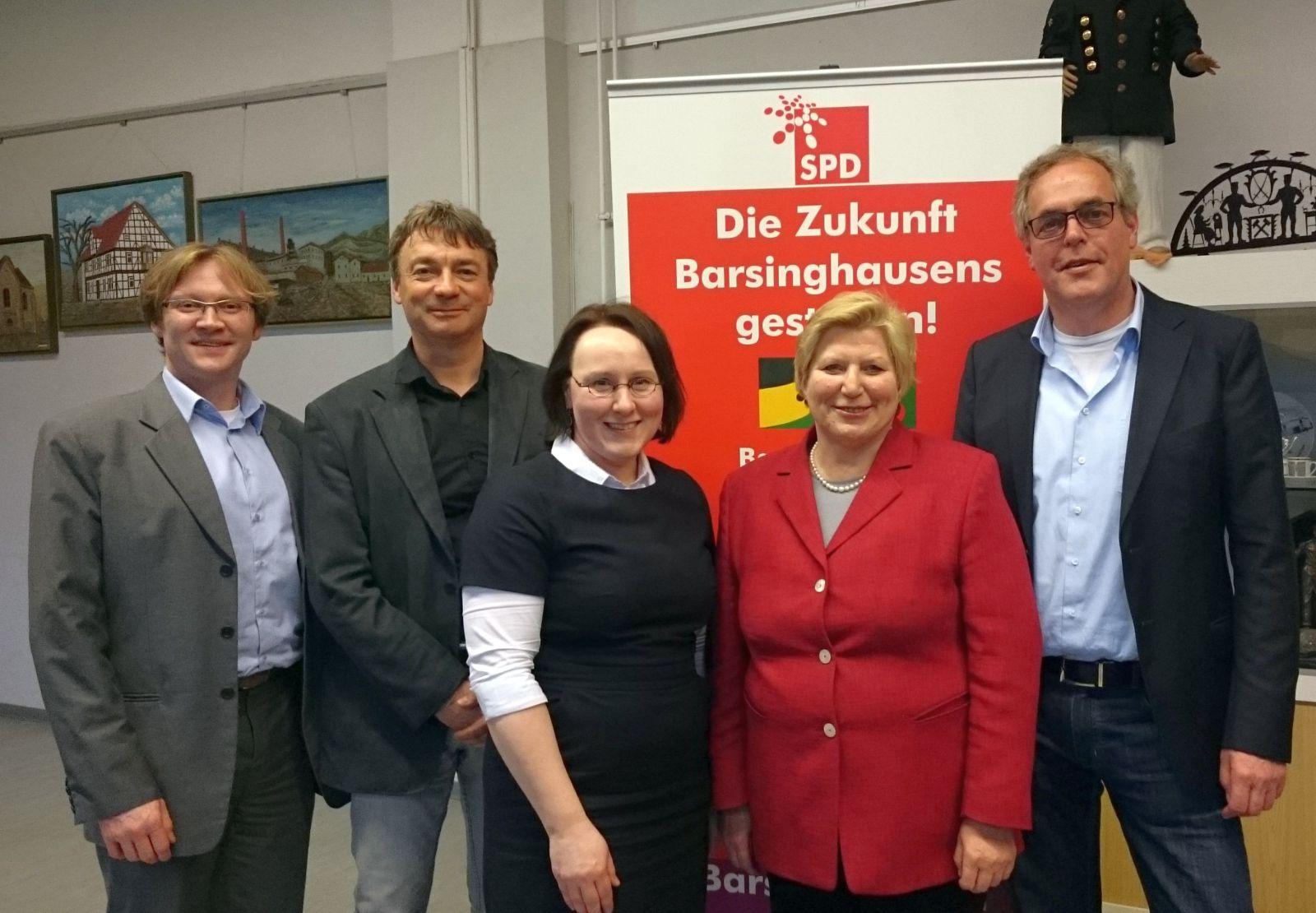 SPD organisiert gut besuchte Talkrunde mit Sozialministerin Cornelia ...