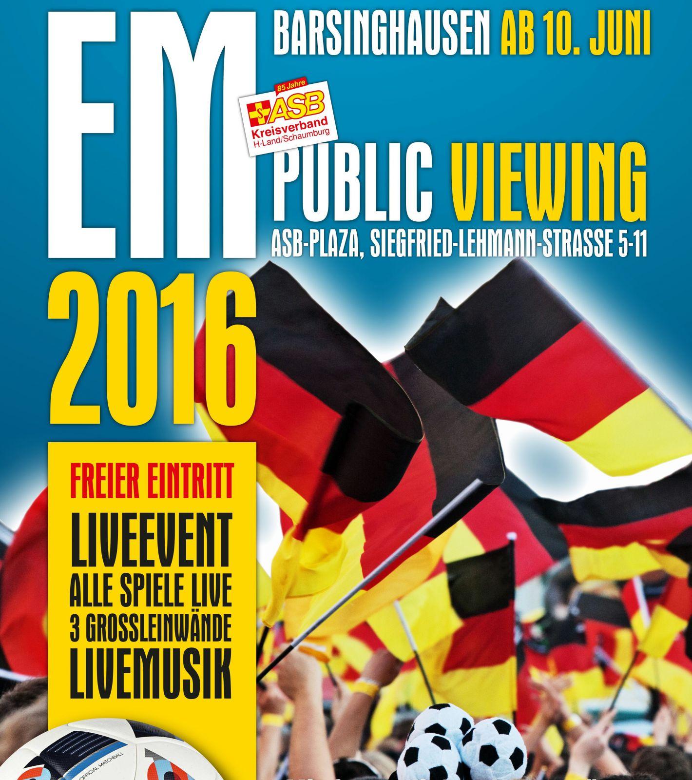Plakat EM 2016