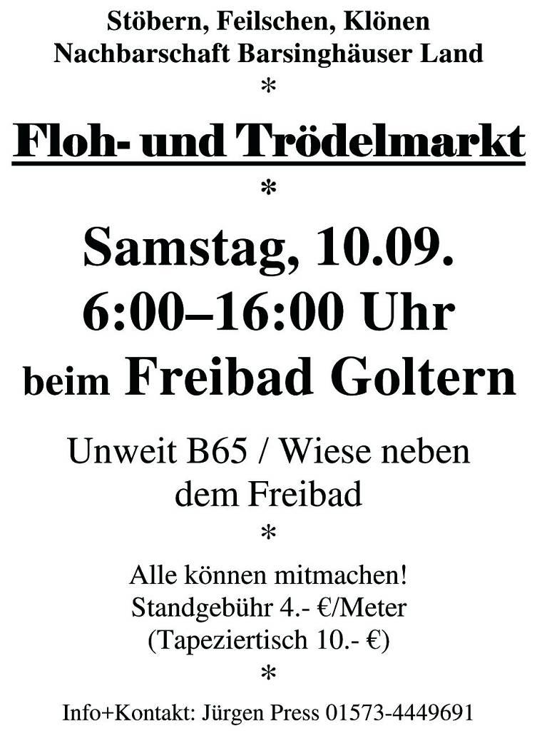 Flohmarkt Goltern_10_09_2016