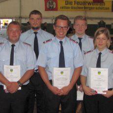 Landringhausen feiert 90 Jahre Freiwillige Feuerwehr