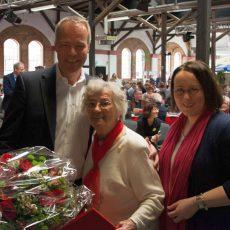 Matthias Miersch würdigt Erika Geruschkat für 65 Jahre Mitgliedschaft in der SPD