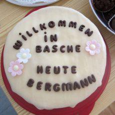 """""""Willkommen in Basche"""" zu Besuch in der Firma Bergmann"""