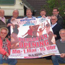 Stadtfest-Opening mit Live-Musik lockt am 1. Mai in den Biergarten vom Max