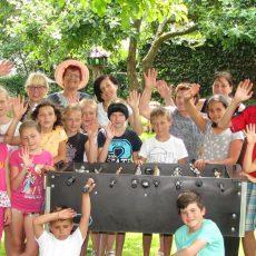 Kinder aus Kovel haben ihren Spaß am Deister
