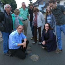 Löcher in der Straße: SPD bemängelt Baupfusch am frisch sanierten Langenäcker