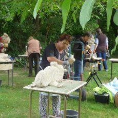 Kunstschule NOA NOA lädt zum Steinbildhauer-Wochenende ein