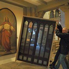 Reformationstür macht Station in der Klosterkirche