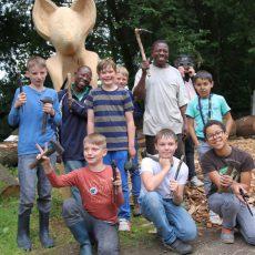 Überdimensionale Wildkatzen-Skulptur ziert demnächst den Deisterkammweg