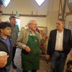 Calenberger Apfeltag und auch Umweltminister Stefan Wenzel ist zu Gast auf der Ökostation
