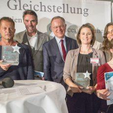 Til Schweiger und Michael Stich gewinnen Inklusionspreis des SoVD