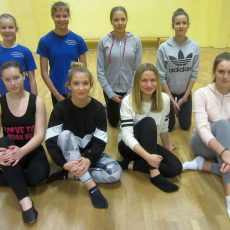 Modern Dance-Gruppe hat sich formiert