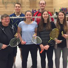 Einmal Gold und zweimal Silber für die Badmintoner des TSV Barsinghausen