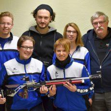 Schießsportgemeinschaft Deister setzt Siegeszug in der Bezirksliga fort