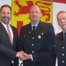 Wolfgang Pardey zum neuen stellvertretenden Ortsbrandmeister von Eckerde gewählt