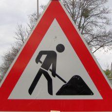 Sanierung der Bahnhofstraße: Zufahrt zur Marktstraße bis Ende April gesperrt