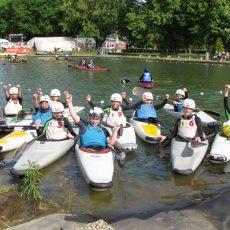 Schnuppertraining beim Calenberger Canoe Club