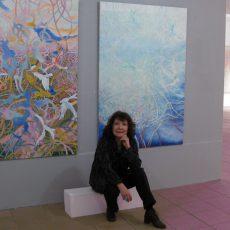 Barsinghäuser Künstlerin stellt Werke in Nienburg aus