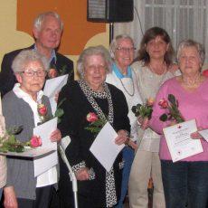 Ilse Sandmann gehört dem DRK-Egestorf schon seit 60 Jahren an