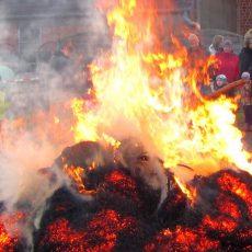 Hier finden Sie eine Übersicht über die Osterfeuer im Stadtgebiet