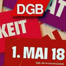 DGB-Ortsverband lädt zur Maikundgebung ein