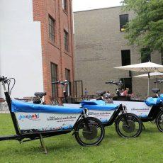 Klimaschutzagentur stiftet Hannah-Lastenrad für engagierte Stadtradler