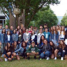 Schüler aus drei Partnerländern gastieren am Hannah-Arendt-Gymnasium