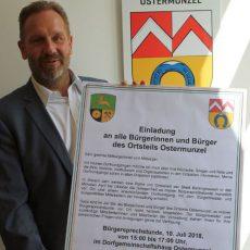 Bürgermeister Lahmann steuert am 10. Juli Ostermunzel an