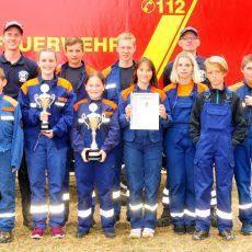Team Bantorf wird Lagermeister beim Zelten der Jugendfeuerwehren