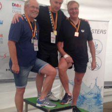 Bronze für Schwimmer Günter Busche bei der DM der Masters