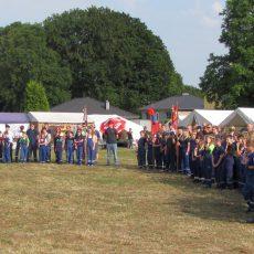 Jugendfeuerwehren starten mit großer Beteiligung ins Zeltlager-Wochenende