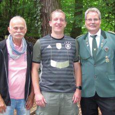 Joke Meier ist neuer Ortskönig von Kirchdorf