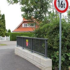 Sanierung der Stockbachbrücke wurde mit 110.000 Euro fertiggestellt