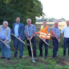 Arbeiten für einen Neubau der Auen-Brücke bei der Sängerlaube haben begonnen
