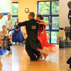 Barsinghäuser Turniertanzpaare geben in Bad Nenndorf ihre sportlichen Visitenkarten ab