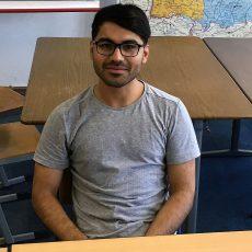 Mein Name ist Mahdi Hosseyni und ich wurde im Iran geboren