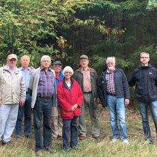 CDU-Mitglieder informieren sich über die forstwirtschaftliche Nutzung des Deisters