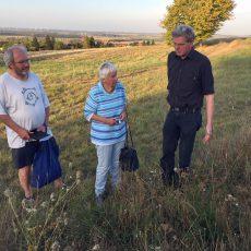 Grüne informieren sich über erste Erfolge beim Anlegen von Blühwiesen