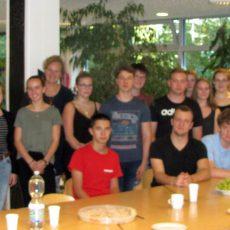 Hannah-Arendt-Gymnasium begrüßt israelische Austauschschüler in Barsinghausen