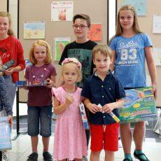 Sommer-Malwettbewerb der Stadtsparkasse: Kinderbilder werden ausgezeichnet