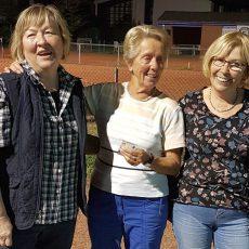 Boule-Damen vom TSV Langreder überraschen positiv