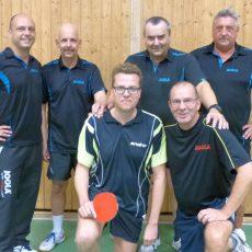 Tischtennis: Langreders 3. Herren entscheidet das Derby gegen Kirchdorf klar für sich